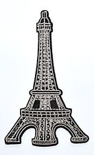 Great Tower of Paris Paris France retro boho europe appliques iron on patch