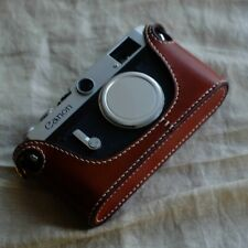 Leather Half Case for Canon P (Rangefinder) Camera - BRAND NEW
