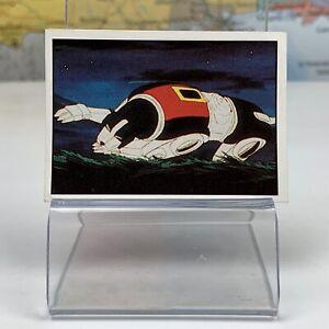 SHIPS SAME DAY Voltron #64 Mini Picture Card Sticker Figurine Panini 1984 Rare