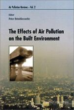 EFFECTS OF AIR POLLUTION ON THE BUILT ENVIRONMENT - NEW HARDCOVER BOOK