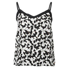 BNWT Missoni Black Ladies 100% Silk Camisole Floral Top @ Target NEW Size 10