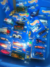 Hot Wheels Vintage Blue Card x 30 vehicles Free Pri all out of production!