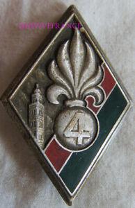 IN14429 - INSIGNE 4° Régiment Etranger, 4 relief, boléro Drago