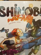 Shinobi Wat-Aah! - Iello Games Board Game New!