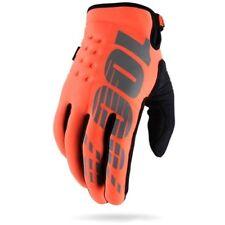 100 Percent Orange 2017 Brisker - Cold Weather MX Gloves S