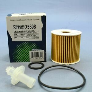 New EcoGard X5608 Engine Oil Filter Replacement