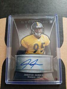 2013 Jarvis Jones rc auto Bowman Sterling + Prism Refractor /25 Steelers