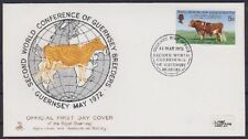 Guernsey FDC 66 mit SST World Conferece 1972, first day cover