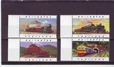 a109 - THAILAND - SG1921-1924 MNH 1997 CENTENARY THAI STATE RAILWAY