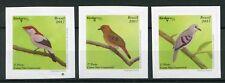 Brazil 2017 MNH Birds 3v S/A Set Birdpex Stamps