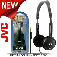 JVC HA-L50 Foldable Light Weight Stereo Headphone¦Smartphone¦Tablet¦PC¦Black¦