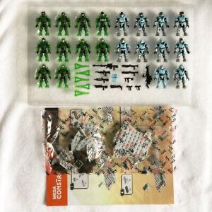 Mega Bloks Construx Halo FRM20 Faithful vs Fallen lot *New Unused* Block Toy