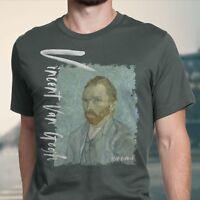 Men's T-Shirt Vincent Van Gogh Self Portrait XS~4X Arteesty