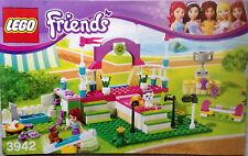 Lego Bauanleitung für Friends 3942 Heartlake Dog Show Neu