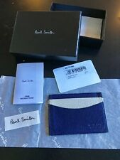 Porte-cartes bancaires PAUL SMITH en cuir