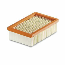 Karcher VACUUM CLEANER FILTER Wet & Dry, Replaceable Flat Pleated German Brand