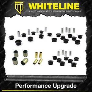 Whiteline Rear Control Arm Lower Upper Bush Kit for Nissan Skyline R32 R33 R34
