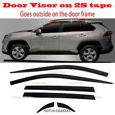 for Toyota Rav4 2019-2021 Window Wind Deflector Door Visor Rain Sun Guard â­�6pcsâ­� (Fits: Toyota)