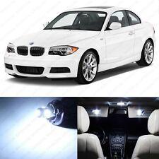 6 x White LED Interior Light Package For 2008- 2013 BMW 128i 135i E82 E85 E86 1M