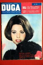 SOPHIA LOREN ON COVER 1962 RARE EXYU MAGAZINE