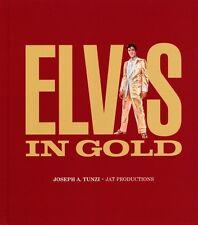 ELVIS PRESLEY - ELVIS IN GOLD - PHOTO BOOK (NEW)