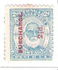 Tonga: Scott N° 27. Mint, not gum, signed. TG036