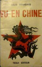 DRANSARD Louis - Vu en Chine - Téqui éditeur, 1952