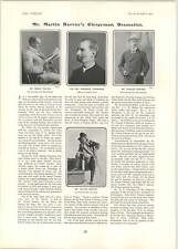 1902 Philip Leslie Madge Lessing Martin Harvey Frederik Langridge