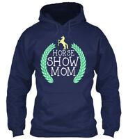 Horse Show Mom - Gildan Hoodie Sweatshirt