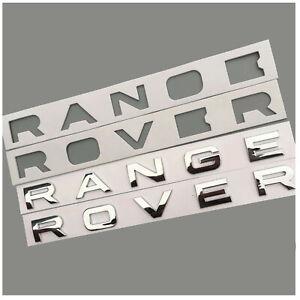 Range Rover Vogue Sport Evoque Chrom Schrift Schriftzug Glänzend Neu