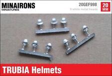 Minairons 1:72 accessories - Trubia helmets - 20mm Spanish Civil War