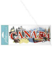 Canada Maple Leaf Hockey Snow Moose Totem Pole Travel Vacation Jolee's stickers