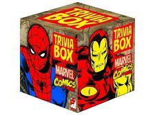 TRIVIA BOX MARVEL COMICS CARD GAME - Movie Book Action Heroes Birthday Xmas Gift