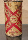 1940 IRTP LUCKY LAGER EXTRA DRY FLAT TOP BEER CAN INTERSTATE VANCOUVER WA #14
