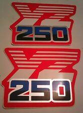 YAMAHA YZ250 Motocross TANK stickers DECALS GRAPHICS