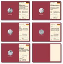 6x 10-EURO-Tabletts 2002 Prophila 480/013