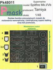 SPITFIRE MK.I/V PAINTING MASK TO TAMIYA KIT #48011 1/48 PMASK