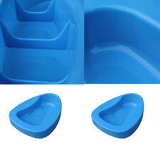 Portable Handing Hospital Home Bedpan Bed Pan Bedpans Personal Health Care Blue