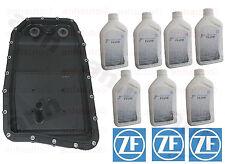 oem ZF Transmission Oil Pan Filter Kit  & 7-Liter's ZF Lifeguard 6 Trans Fluid