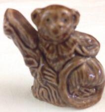 Wade Whimsies Figurine Red Rose Tea England Langor Monkey