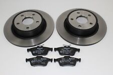 Original Brake Discs + Pads Rear Ford C - Max - Grand - 1683383 +1820122