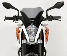 Etase Parabrisas de la Motocicleta Parabrisas Doble Burbuja para KTM Duke 125200390 KTM 390 KTM 200 KM 125 2012 2013 2014 2015 2016