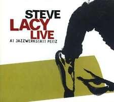 STEVE LACY  solo  LIVE AT JAZZWERKSTATT PEITZ, 1981
