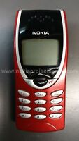 Nokia 8290 Red Cell Phone UNLOCKED RARE and COLLECTIBLE