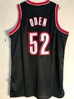 Adidas Swingman NBA Jersey Portland Trailblazers Greg Oden Black sz XL a09dc11d7