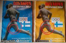 Olympia Helsinki 1952 xv. olympiques d'été jeux partie 1 et 2 (journaux)