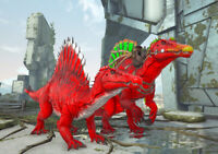 Ark Survival Evolved Xbox One PvE Color Mutated Aberrant Spino Breeding Pair