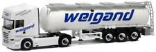 Herpa LKW Scania R Topl/Aerop Tank-SZ Weigand