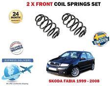 Für Skoda Fabia 1.2 1.4 Fließheck Limousine 1999-2008 2x Schraubenfeder Vorne