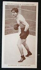 Carpentier   World Light Heavyweight Champion Boxer  Original  1930's Card
